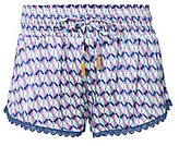 Paloma Blue Paloma Purple Mosaic Print Shorts