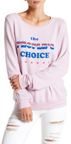 Wildfox Couture The People&s Choice Baggy Beach Jumper