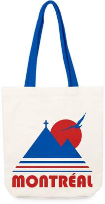 Main And Local Montreal Vintage Canvas Tote