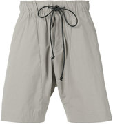 Attachment drawstring bermudas - men - Cotton/Nylon/Polyurethane - III