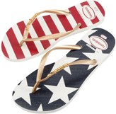 Havaianas Women's Slim Stars and Stripes FlipFlop - 8143892