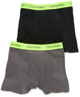 Calvin Klein Boys' or Little Boys 2-Pack Boxer Briefs