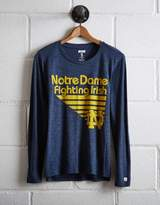 Tailgate Women's Notre Dame Long Sleeve T-Shirt