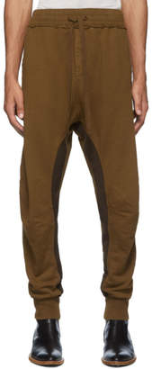 Haider Ackermann Brown Perth Moonshape Lounge Pants
