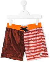 Vingino color block swim shorts - kids - Polyester - 8 yrs