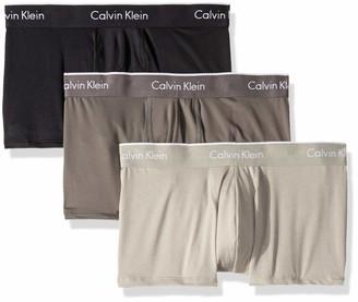 Calvin Klein Men's Microfiber Stretch Multipack Low Rise Trunks
