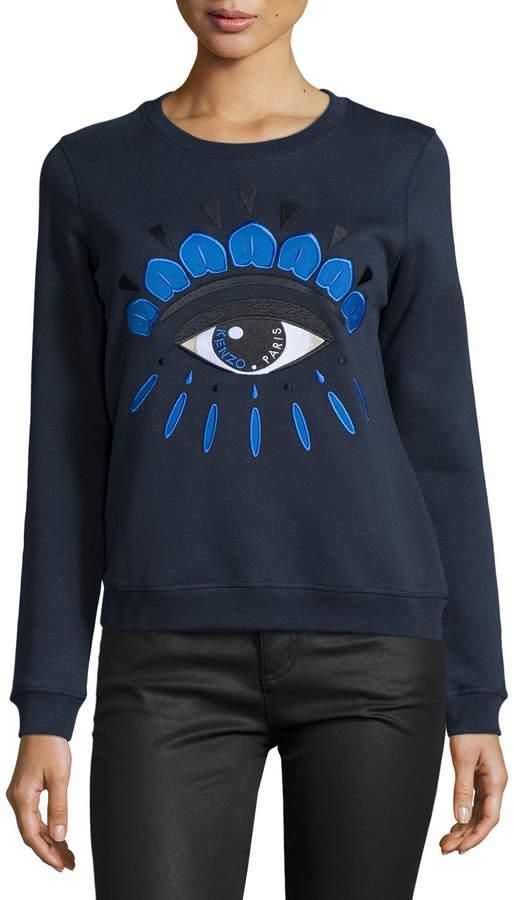 Kenzo Classic Eye Sweatshirt, Midnight Blue