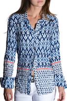 cino Blue Ethnic Shirt
