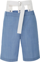 Tibi Fitted Beatle Short