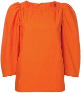 Atlantique Ascoli round neck blouse - women - Cotton - 1