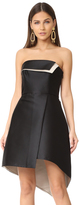 Halston Strapless Structure Dress