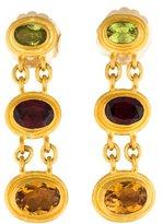 Yossi Harari Multistone Drop Earrings