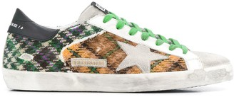 Golden Goose patchwork Ice Star sneakers