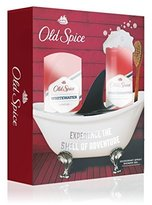 Old Spice Whitewater Deodorant Spray & Shower Gel Gift Set by