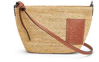 Loewe x Paula's Ibiza Raffia Medium Crossbody Bag