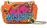 Moschino crowned elephant shoulder bag