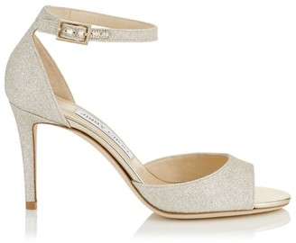 Jimmy Choo Annie 85 Glitter Sandals