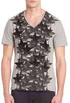 Versace Star Flocking T-Shirt