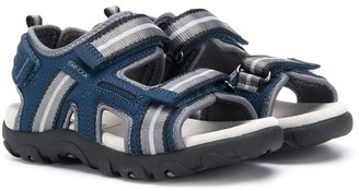 Geox Kids double strap open toe sandals