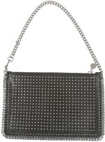 Stella McCartney Falabella Clutch From Black Falabella Clutch With Zip Fastening And Chain Strap.