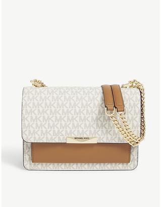 MICHAEL Michael Kors Jade large leather shoulder bag