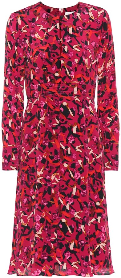 Schumacher Dorothee Exclusive to Mytheresa Printed silk-blend midi dress