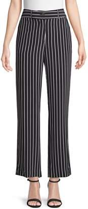 Equipment Lita Striped Silk Trousers