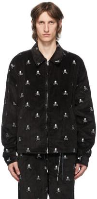 Mastermind Japan Black Corduroy Logo Jacket