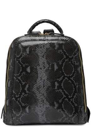 Tignanello Capri Snake-Embossed Backpack