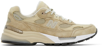 New Balance Beige and Brown Made In US M992TN Sneakers