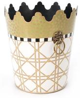 Mackenzie Childs MacKenzie-Childs Lattice Wastebasket