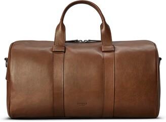 Shinola Guardian Leather Duffle Bag
