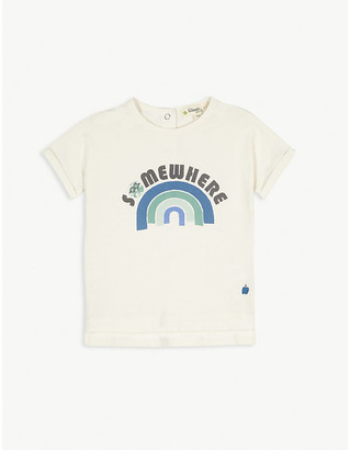 Bonnie Mob Rainbow graphic cotton T-shirt 3-24 months