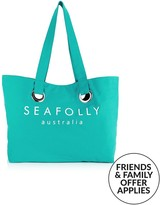 Seafolly Carried Away Eyelet Tote Bag