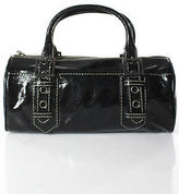 Rafe New York Black Patent Leather Small Satchel Handbag