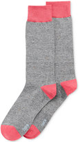 Bar III Men's Seamless Toe Patterned Neps Dress Socks, Only at Macy's