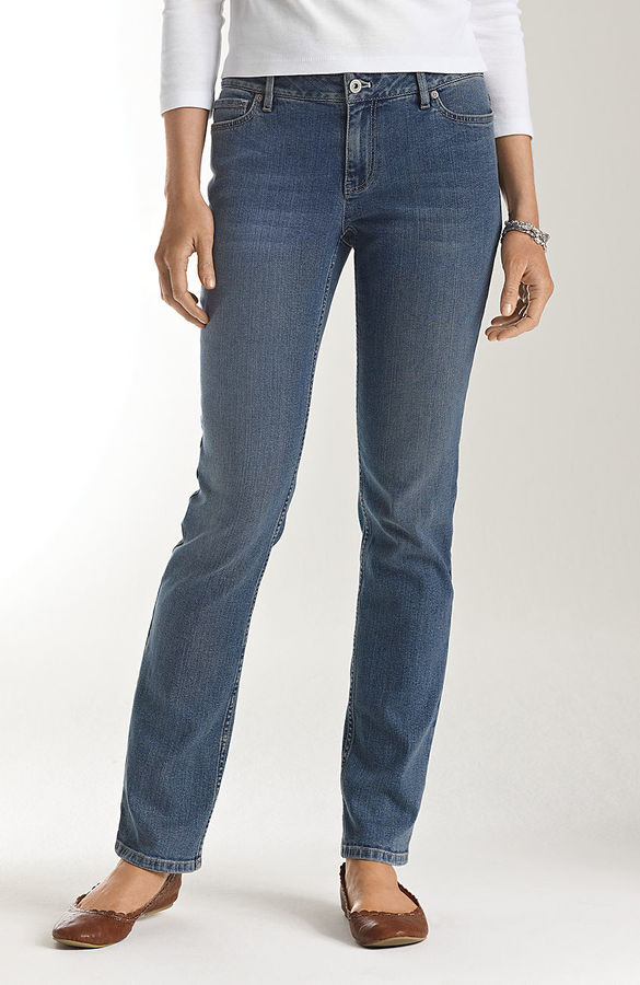 J. Jill Authentic fit slim-leg jeans