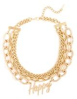 BaubleBar Gold Happy Collar