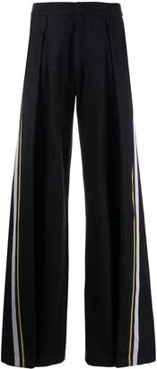 A.F.Vandevorst wide-leg flared trousers