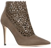 Jimmy Choo 'Maurice' boots - women - Leather/Nubuck Leather - 37