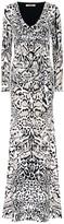 Roberto Cavalli Leopard-printed jersey dress