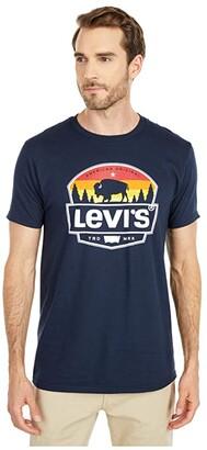 Levi's Bill Tee (Navy) Men's Clothing