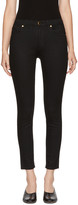 Khaite Black Kassandra Mid-rise Ankle Skinny Jeans