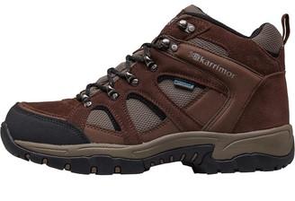 Karrimor Mens Bodmin Mid 4 Weathertite Hiking Boots Dark Brown/Brown