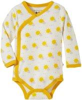 Baby Soy Organic Pattern Kimono Bodysuit (Baby) - Sunny - 6-12 Months