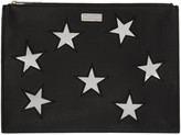 Stella McCartney Black Star Pouch