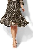 New York & Co. Gold Mesh Skirt