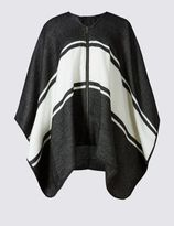 Marks and Spencer Block Striped Zipped Wrap