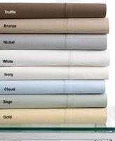 Hotel Collection 600T Egyptian Cotton Ivory Fitted Sheet