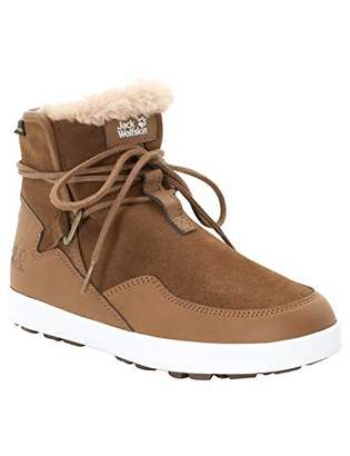 Jack Wolfskin Auckland WT Texapore Boot Women's Waterproof Fleece Lined Winter Chukka Sneaker
